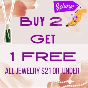 🆕 Buy 2 Get 1 FREE on ALL Jewelry $21 or less NWT